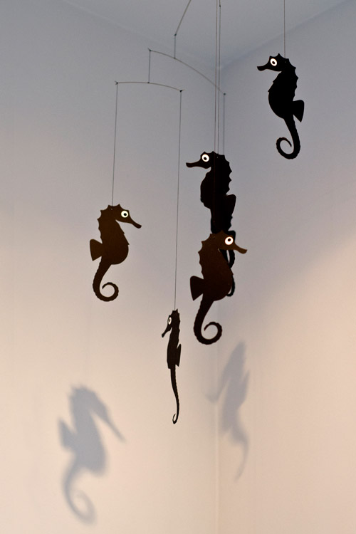 seahorse mobile by flensted